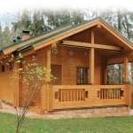 Строительство домов из клееного бруса — одна из главных специализаций компании