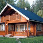 Услуги строительства частных деревянных домов «под ключ»